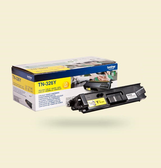 Cartouche de toner Jaune TN-326Y - Imprimante Brother DCP-L8400CDN, MFC-L8650CDW