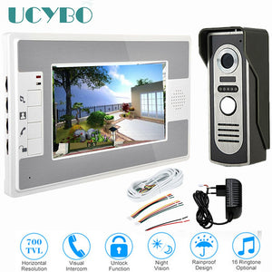 video intercom system doorbell night vision