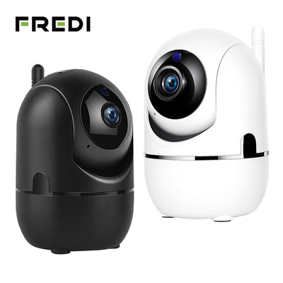 FREDI 1080P Cloud IP Camera For Home Security Surveillance With Auto Tracking
