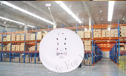 Wireless 433MHz Smoke Sensor Smoke Detector Built-in Transmit Antenna Long Distance Work Support M2B G2B PG103 W2B G18 G90B 30A
