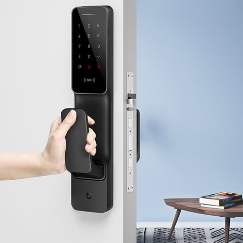 Xiaomi Mi Push-Pull Smart Door Lock With Fingerprint Sensor password Bluetooth Unlock Mijia APP Control Intelligent Linkage