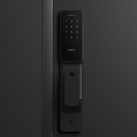 Image of Xiaomi Mi Push-Pull Smart Door Lock With Fingerprint Sensor password Bluetooth Unlock Mijia APP Control Intelligent Linkage