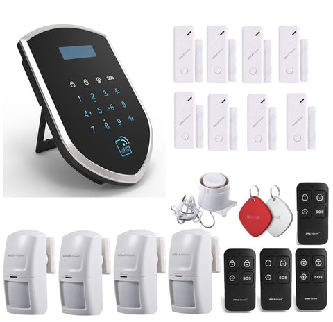 Image of Wolf-Guard WM3GR 3G Wifi Wireless Home Security Alarm System DIY Kit