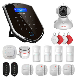 Wolf-Guard WM3GR 3G Wifi Wireless Home Security Alarm System DIY Kit