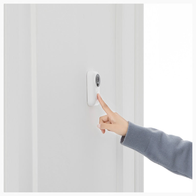 Xiaomi Zero AI Face Identification Doorbell Intercom Set With Motion Detection SMS And Push Notifactions And Free Cloud Storage