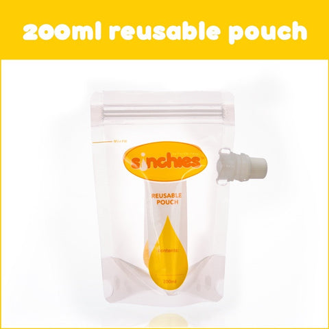 200 ml reusable pouches