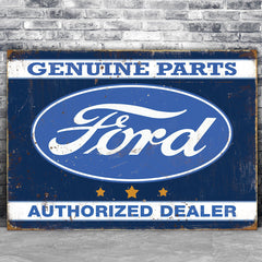 Ford Metal Signs and Tins - Officially Licensed Collection