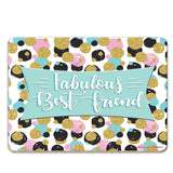 Fabulous Best Friend Coaster - The Metal Sign Store