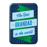 The Best Grandad In The World Metal Tin - The Metal Sign Store