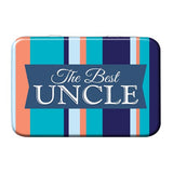 The Best Uncle Metal Tin - The Metal Sign Store