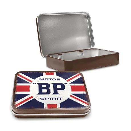 BP Motor Spirit Logo Metal Tin - The Metal Sign Store