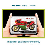Motorbike Metal Tin - Ducati 900 CC - The Metal Sign Store