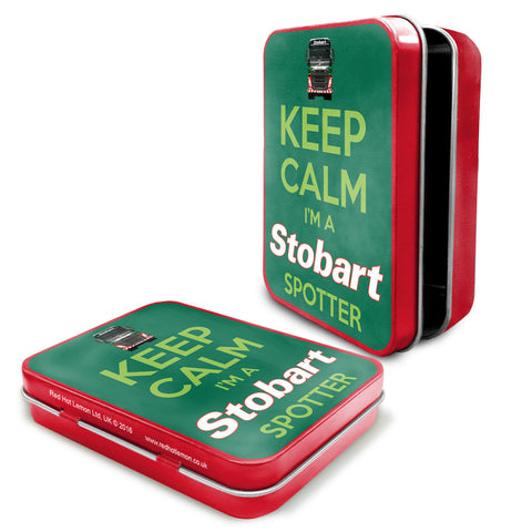 Eddie Stobart Metal Tin - Keep Calm I'm A Stobart Spotter - The Metal Sign Store