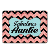 Fabulous Auntie Coaster - The Metal Sign Store