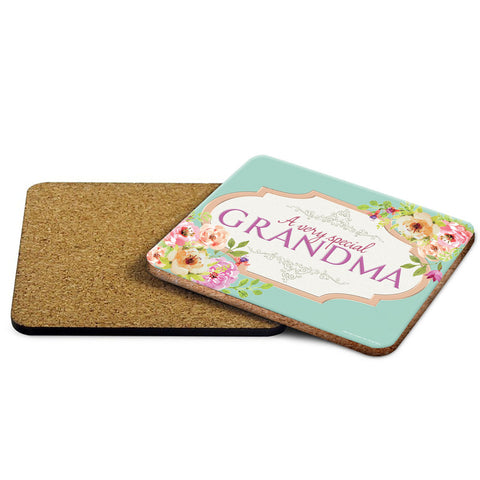 A Very Special Grandma Coaster - The Metal Sign Store