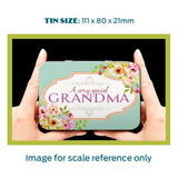 A Very Special Grandma Metal Tin - The Metal Sign Store
