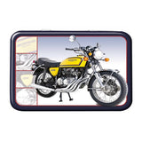 Motorbike Metal Tin - Honda 400 Four - The Metal Sign Store