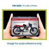 Motorbike Metal Tin - Honda CB92 Benly - The Metal Sign Store