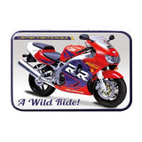 Motorbike Metal Tin - Honda Fireblade - The Metal Sign Store