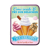Try Our Delicious Ice Creams Metal Tin - The Metal Sign Store