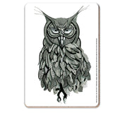 Owl Mehndi Coaster - The Metal Sign Store