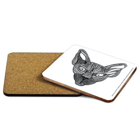 Sphynx Mehndi Coaster - The Metal Sign Store