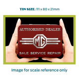 MG Metal Tin - Sales. Service. Repair - The Metal Sign Store