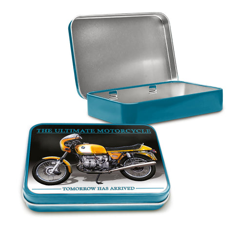 Motorbike Metal Tin - BMW R90S - The Metal Sign Store