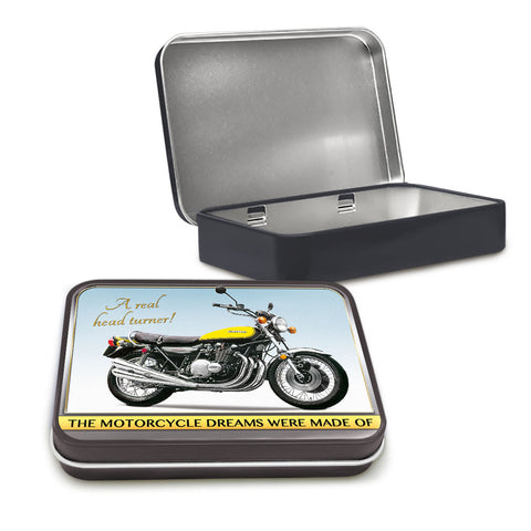 Motorbike Metal Tin - Kawasaki Z1 - The Metal Sign Store