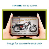 Motorbike Metal Tin - Royal Enfield Crusader Sport - The Metal Sign Store