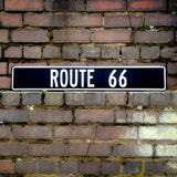 Route 66 Metal Sign - Street Sign - The Metal Sign Store