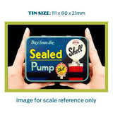 Shell Metal Tin - Buy From The Sealed Pump - The Metal Sign Store