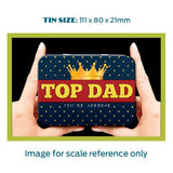 Top Dad Metal Tin - The Metal Sign Store