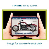 Motorbike Metal Tin - Triumph Rocket III - The Metal Sign Store