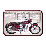 Motorbike Metal Tin - Triumph Speed Twin - The Metal Sign Store