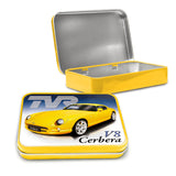 TVR Metal Tin - TVR Cerbera V8 - The Metal Sign Store