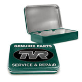TVR Metal Tin - TVR Genuine Parts - The Metal Sign Store