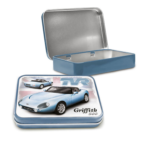 TVR Metal Tin - TVR Griffith 500 - The Metal Sign Store