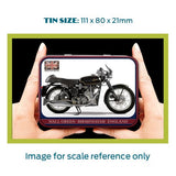 Motorbike Metal Tin - Velocette Venom Thruxton - The Metal Sign Store