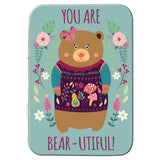 You Are Bear-utiful! Metal Tin - The Metal Sign Store