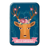 Hello Gorgeous Metal Tin - The Metal Sign Store