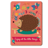Enjoy All The Little Things Coaster - The Metal Sign Store