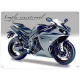 Motorbike Metal Sign - Yamaha YZF R1 - The Metal Sign Store