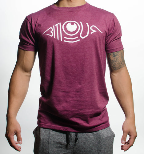 Bitious Spring Tee - (Wine)