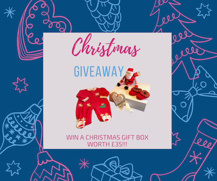 Christmas Giveaway: Our 1st of 2 giveaways this month!