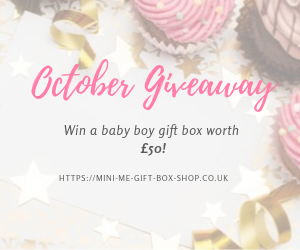 October Giveaway: Win a Baby Boy Gift Box worth £50!
