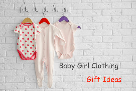 Baby Girl Clothing Hanging up