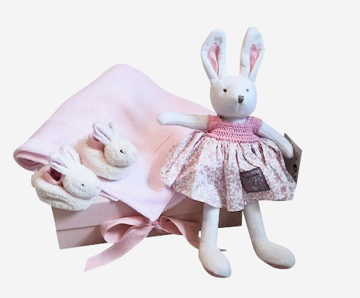 Bella Rabbit Baby Girl Gift Box | Ragtales