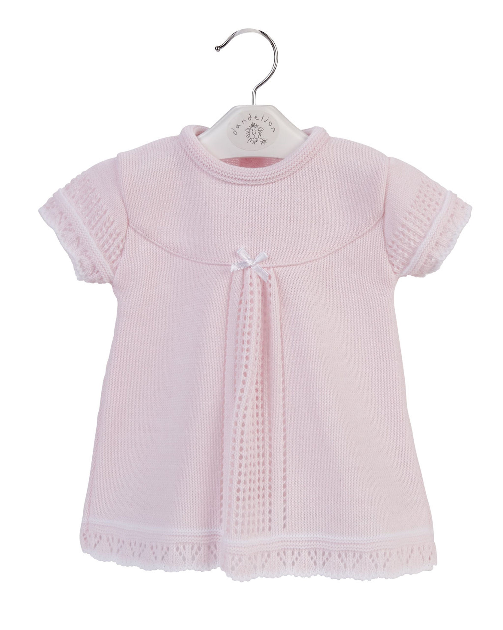 2f9889faeaca ... baby pink dress, knitted baby wear, baby girl knitted dress, infant  girl clothing ...