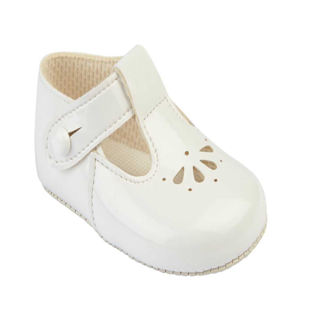 01e3079fc824c baby pre-walker shoes, baypods, white patent baby shoe, baby boy booties ...